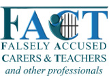 Falsely Accused Caregivers & Teachers and other professionals Logo